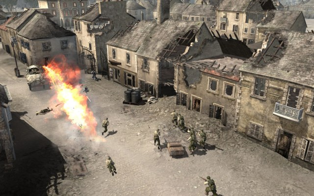 Company of Heroes 1 PC Games Gameplay