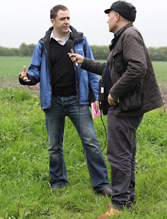 Hydrologist Jamie Hannaford from CEH talks to Tom Feilden of the BBC Radio 4 Today programme