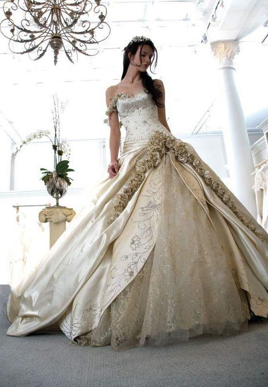Wedding Dress Elegant Classic : Whiteazalea ball gowns vintage gown dresses
