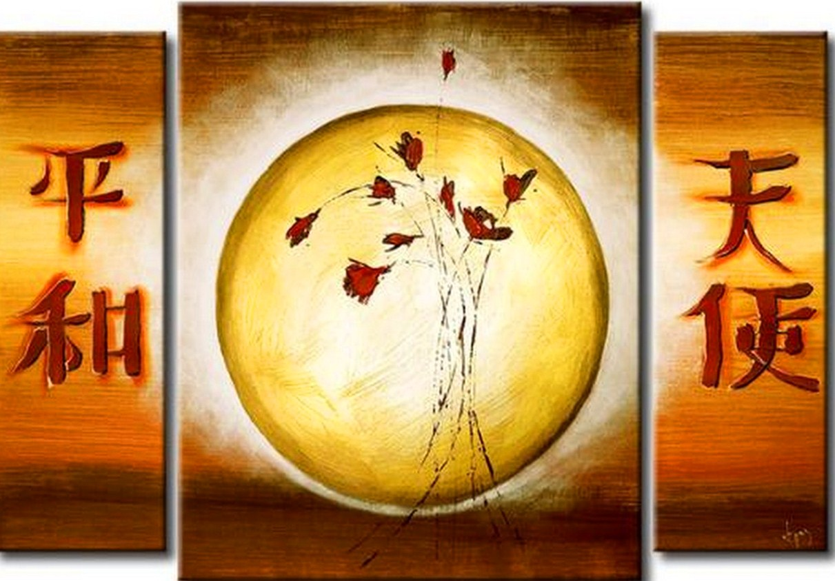 Pinturas cuadros lienzos arte minimalista pintura moderna - Lienzos decorativos ...