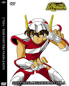 Los Caballeros del Zodiaco Pegasus Box  Volumenes : 1 - 2 - 3