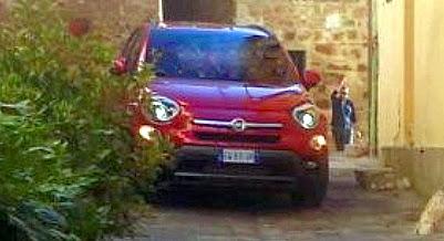 Fiat 500 in San Quirico d'Orcia