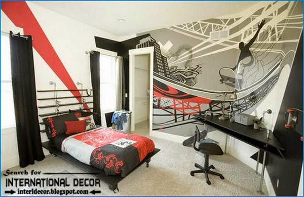 Boy decorating idea room teen