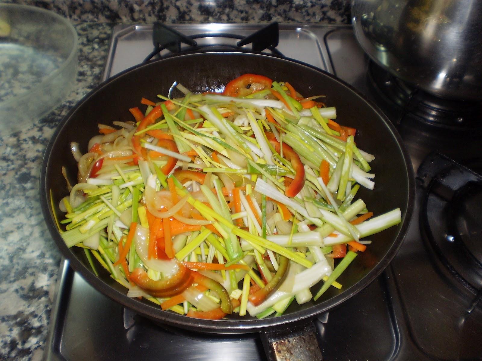 Cocina sin tonterias pescado al horno con verduras - Cocina al horno ...