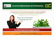 CONHEÇA O CURSO DE PLANTAS MEDICINAIS (FITOTERAPIA)