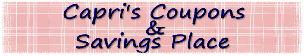 Capri's Coupons & Saving Place