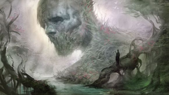 Andrew Olson ilustrações digitais fantasia arte conceitual Sem vida