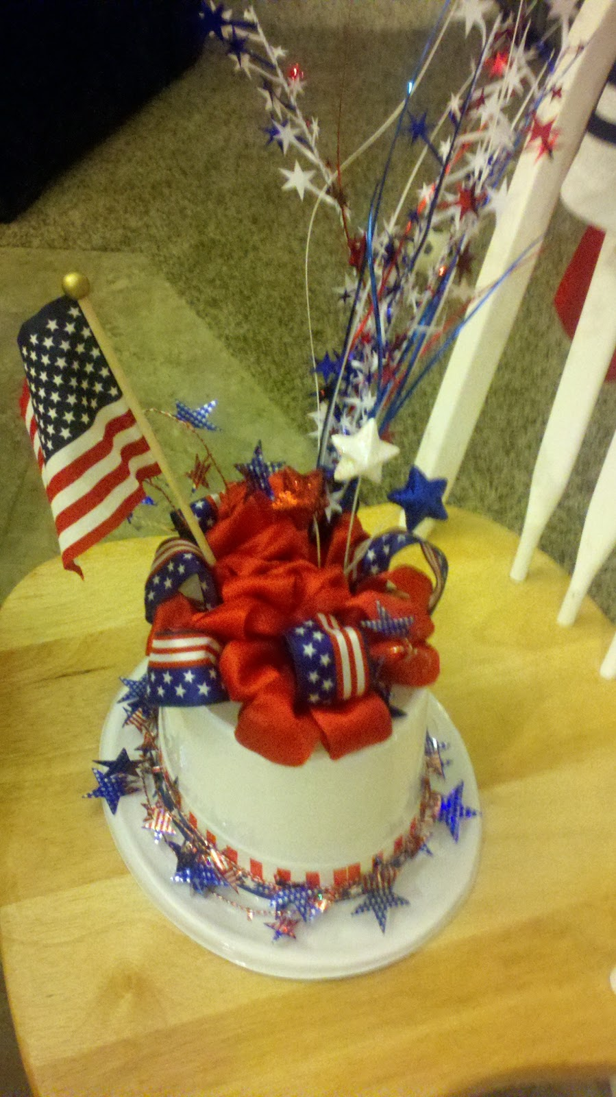 3krazychics 4th of july decor for Decoration 4 july