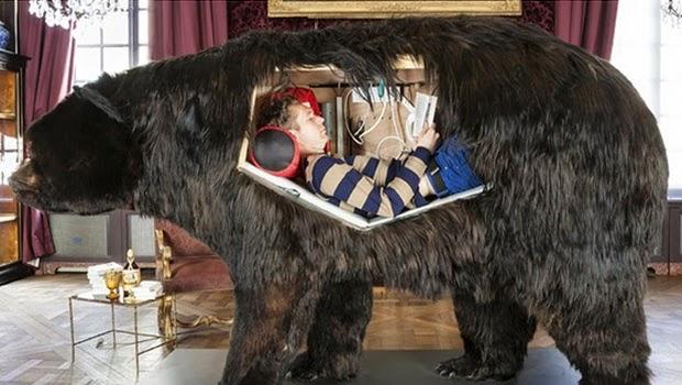 Hebat, Pria ini Mampu Hidup 13 Hari di Perut Beruang