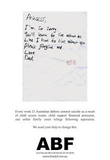 μπαμπας, αυστραλια, αποξενωση