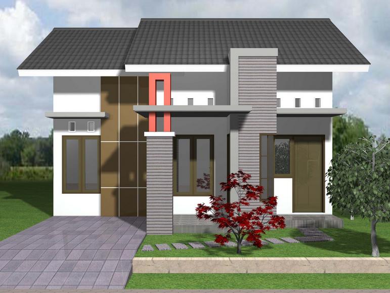 Desain Rumah Bergaya Eropa Minimalis Terbaru