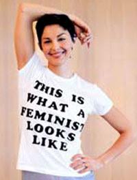 feministas são assim - atriz Ashley Judd