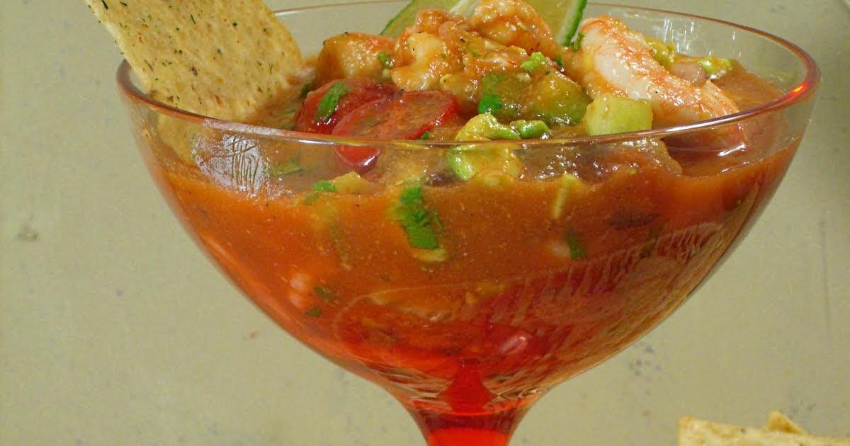 Comfy Cuisine: Mexican Shrimp Cocktail - Coctel de Camarones