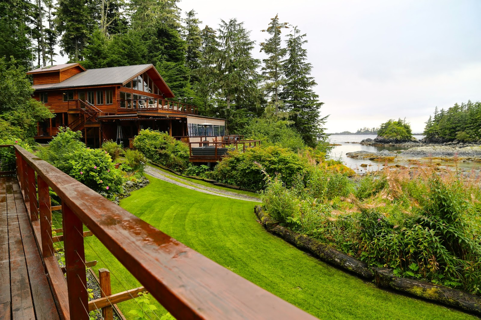 Talon fishing lodge, sitka, alaska