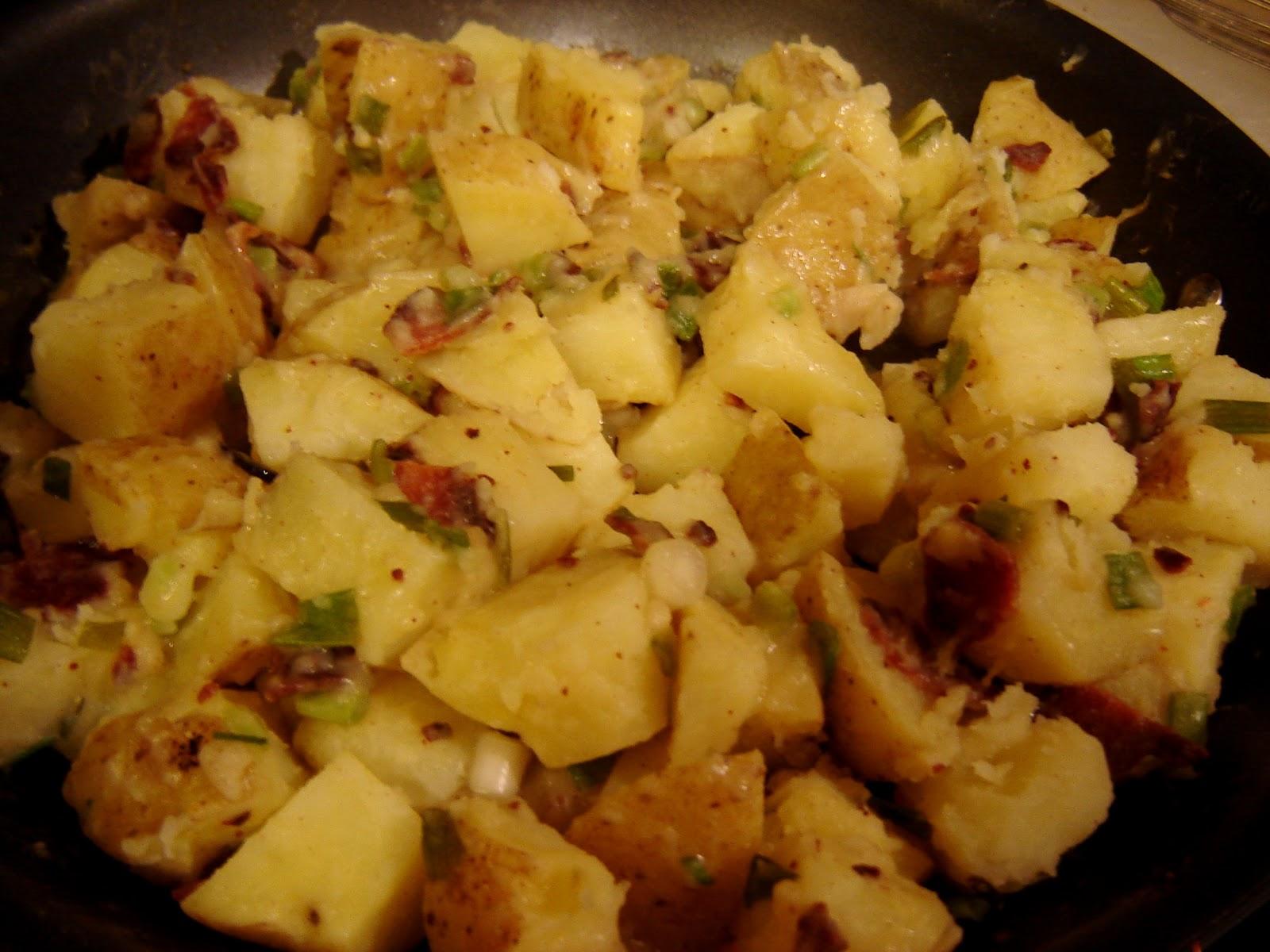 Dinner is Vegan: Warm German Potato Salad
