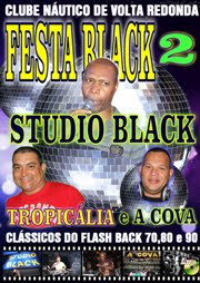 DVD FESTA BLACK 2 - VOLTA REDONDA