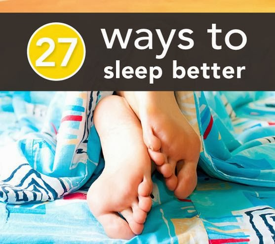 27 Easy Ways To Sleep Better
