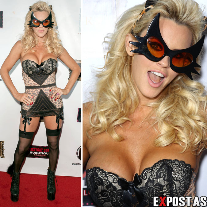 Jenny McCarthy: Halloween party no Planet Hollywood em Las Vegas - 31 de Outubro de 2012