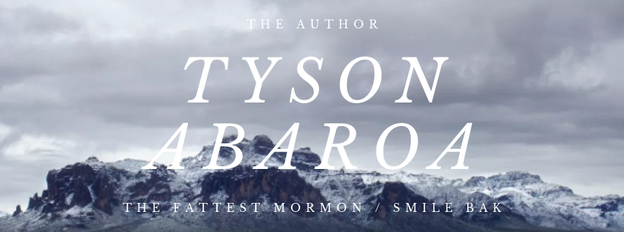 The Author Tyson Abaroa