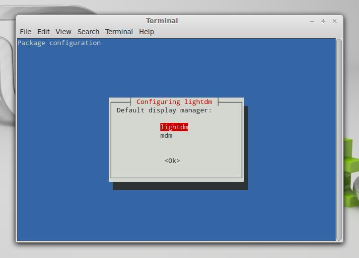how to change default display manager ubuntu