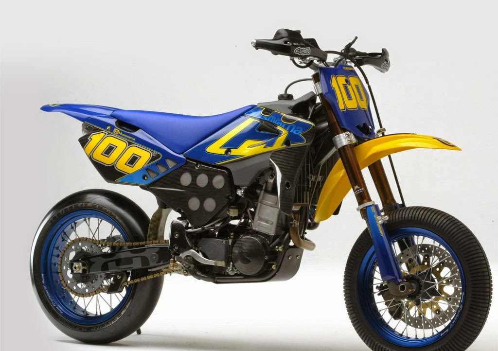 Husqvarna SMR630 New Model Blue & yellow Motorcycles Price