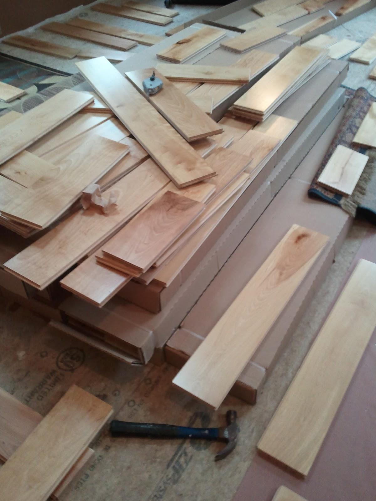 Commonadnock Flooring : Creative Woodworking: Flooring Weekend / Install DIY