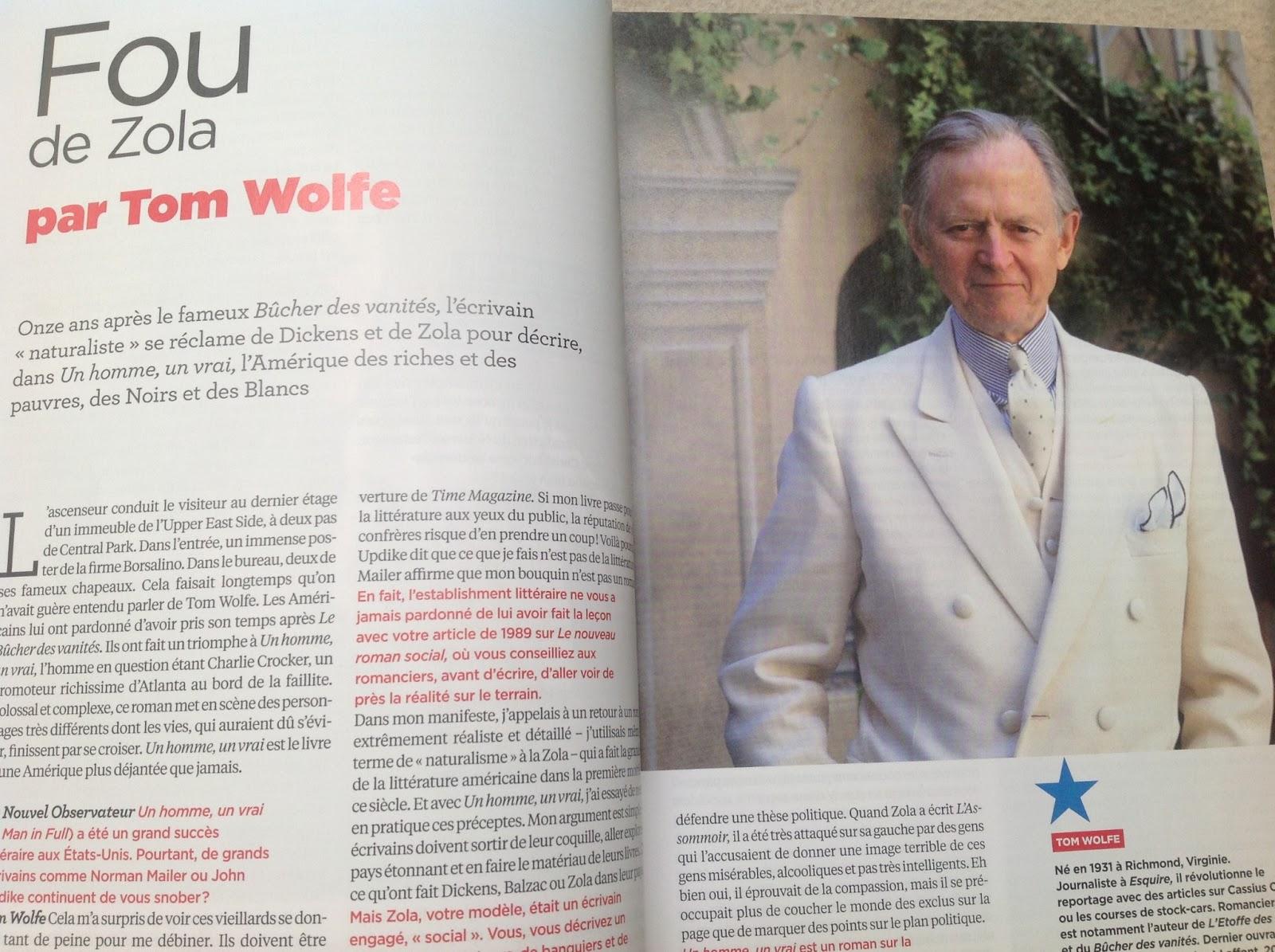 L'Amérique vue par ses grands écrivains - Tom Wolfe
