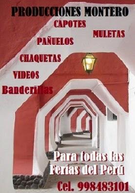 """PRODUCCIONES TAURINAS """"MONTERO"""""""