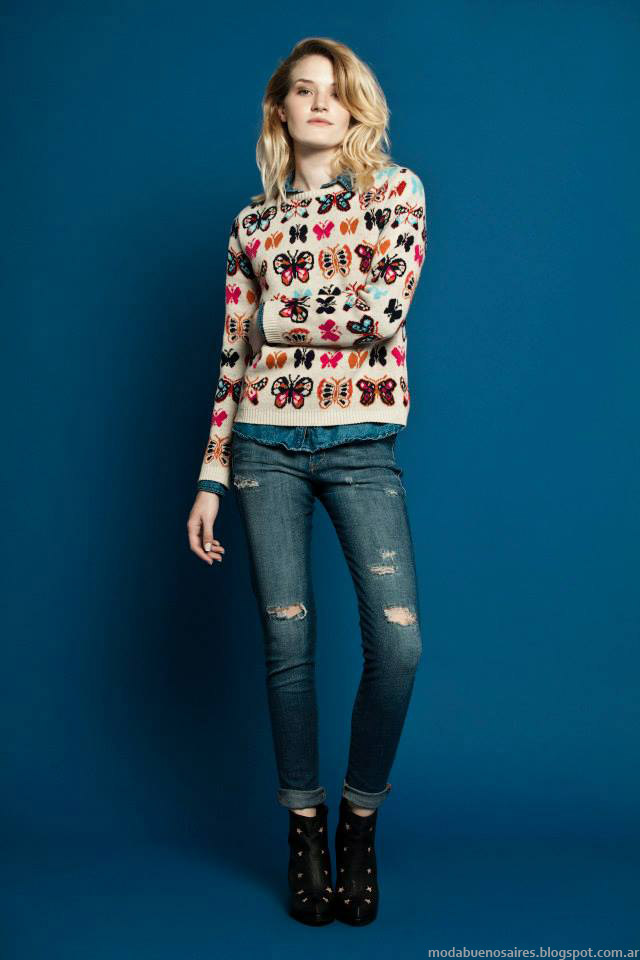 Sweaters invierno 2015 Wanama Mujer. Moda otoño invierno 2015.