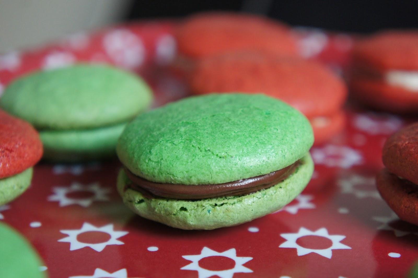 rezept weihnachtliche macarons ein glutenfreier blog. Black Bedroom Furniture Sets. Home Design Ideas