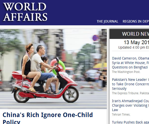 World News : World Affairs