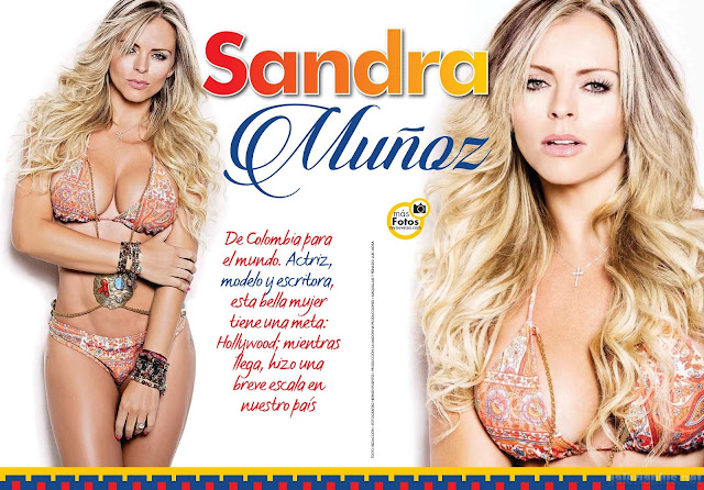 Sandra Muñoz TvyNovelas Superclick - Septiembre 2015