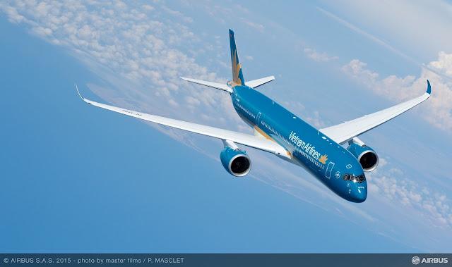 Grupo É MAIS QUE VOAR | Vietnam recebe o Airbus A350