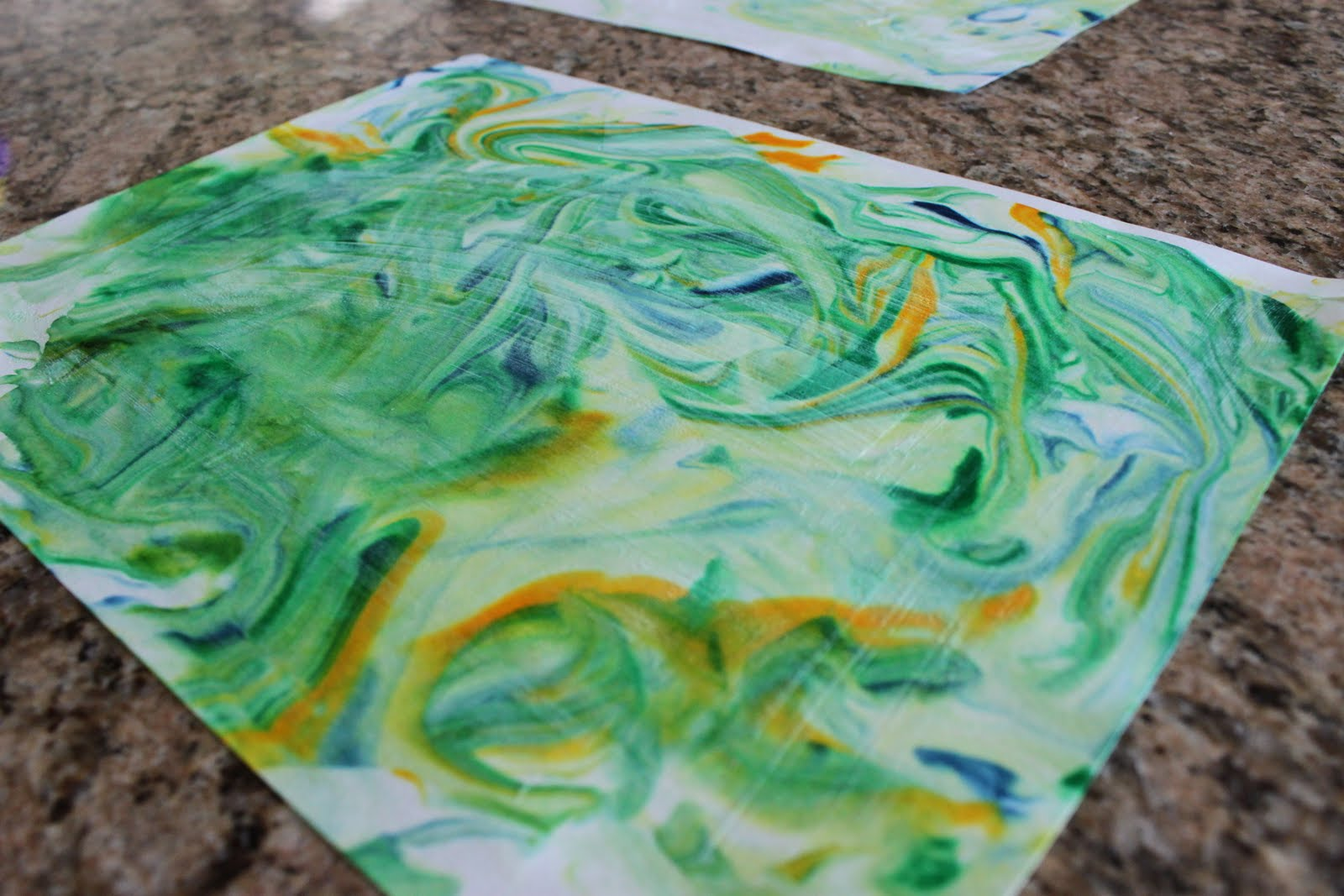 playing house toddler art marble painting with shaving cream Food Coloring Guide  Shaving Cream Food Coloring Art