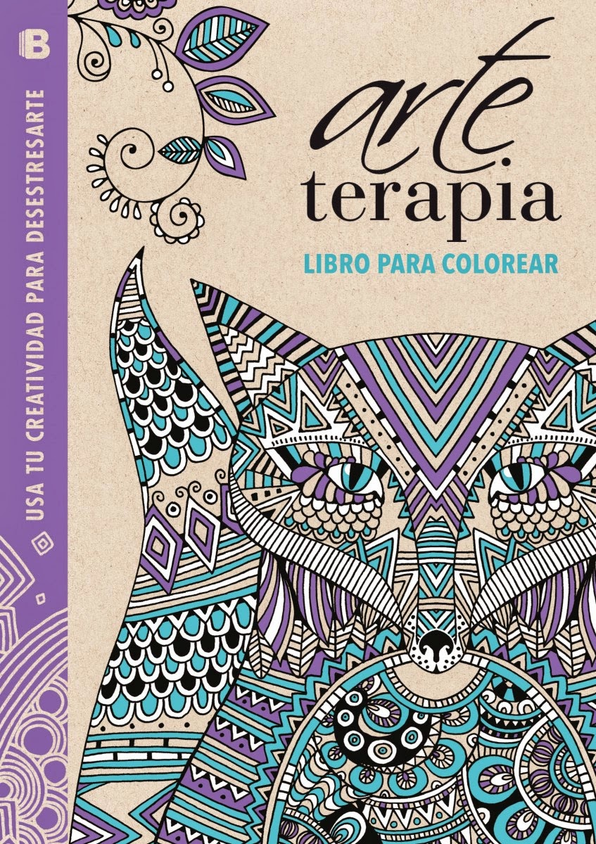 Vamos a leer...: Arte Terapia : libro para colorear