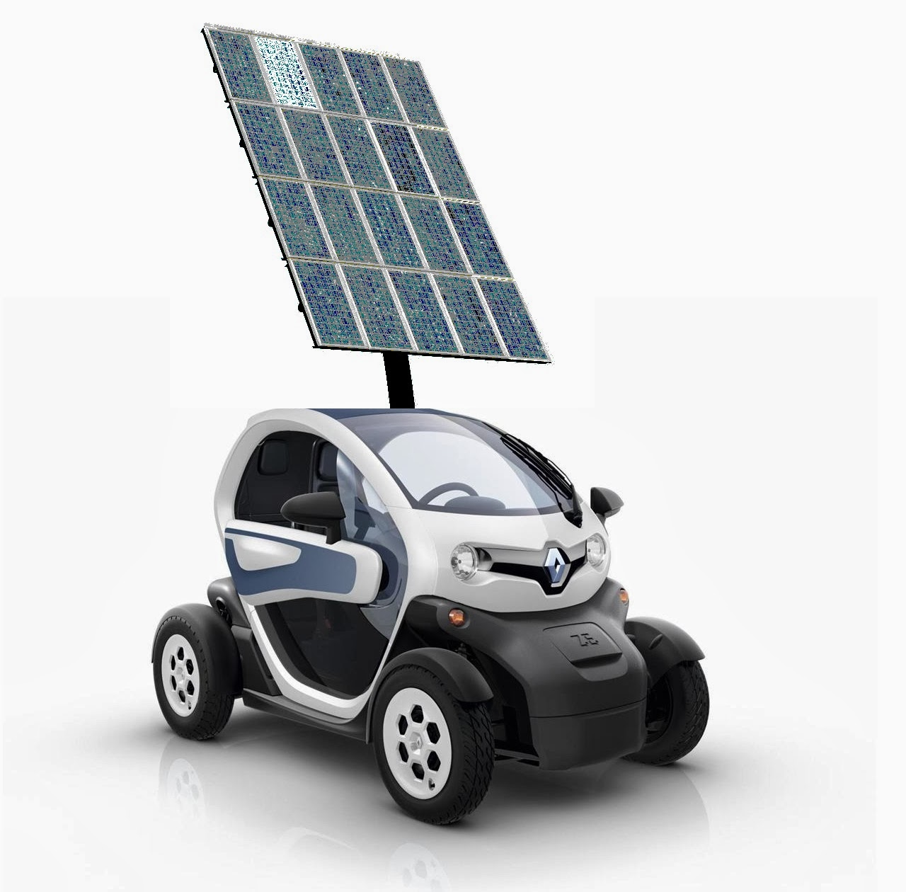 The American automaker Ford presents a prototype of solar-electric car ...