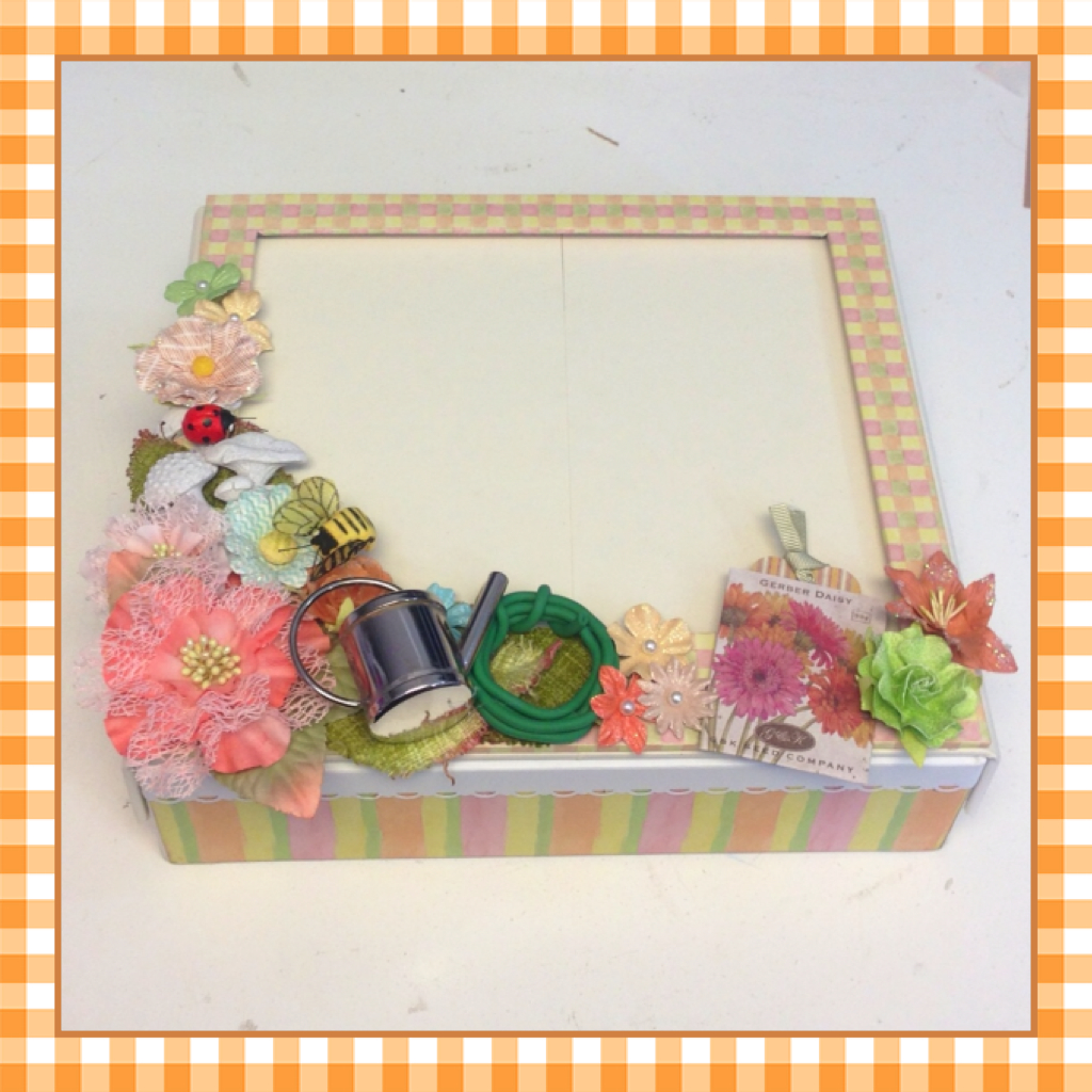 Photo Frame Keepsake Box