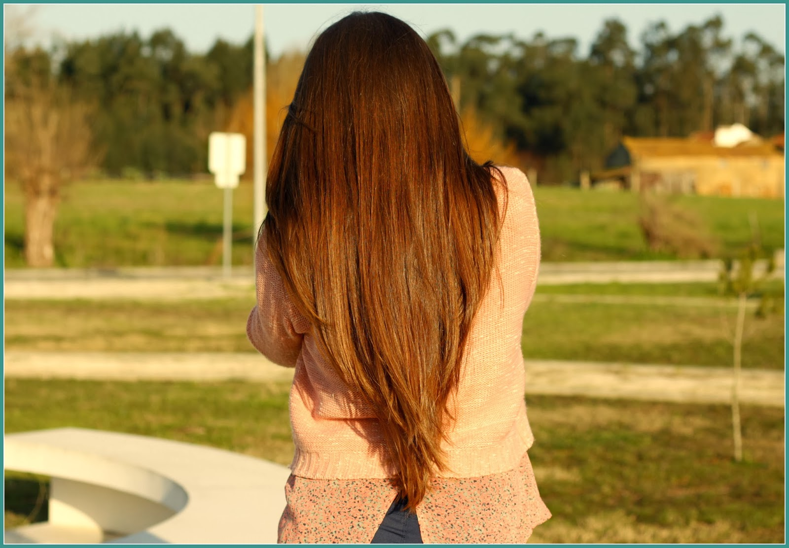 long ombre hair