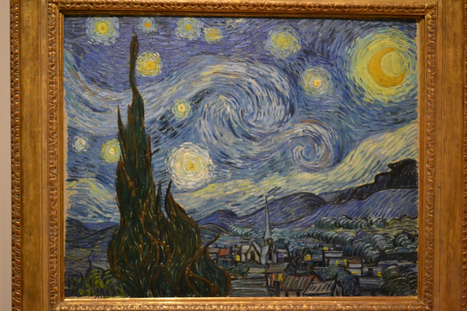 why van goghs starry night is The starry night, 1889 by vincent van gogh post-impressionism cloudscape museum of modern art (moma), new york city, ny, us.