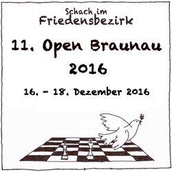 Schach-Open Braunau am Inn 2016