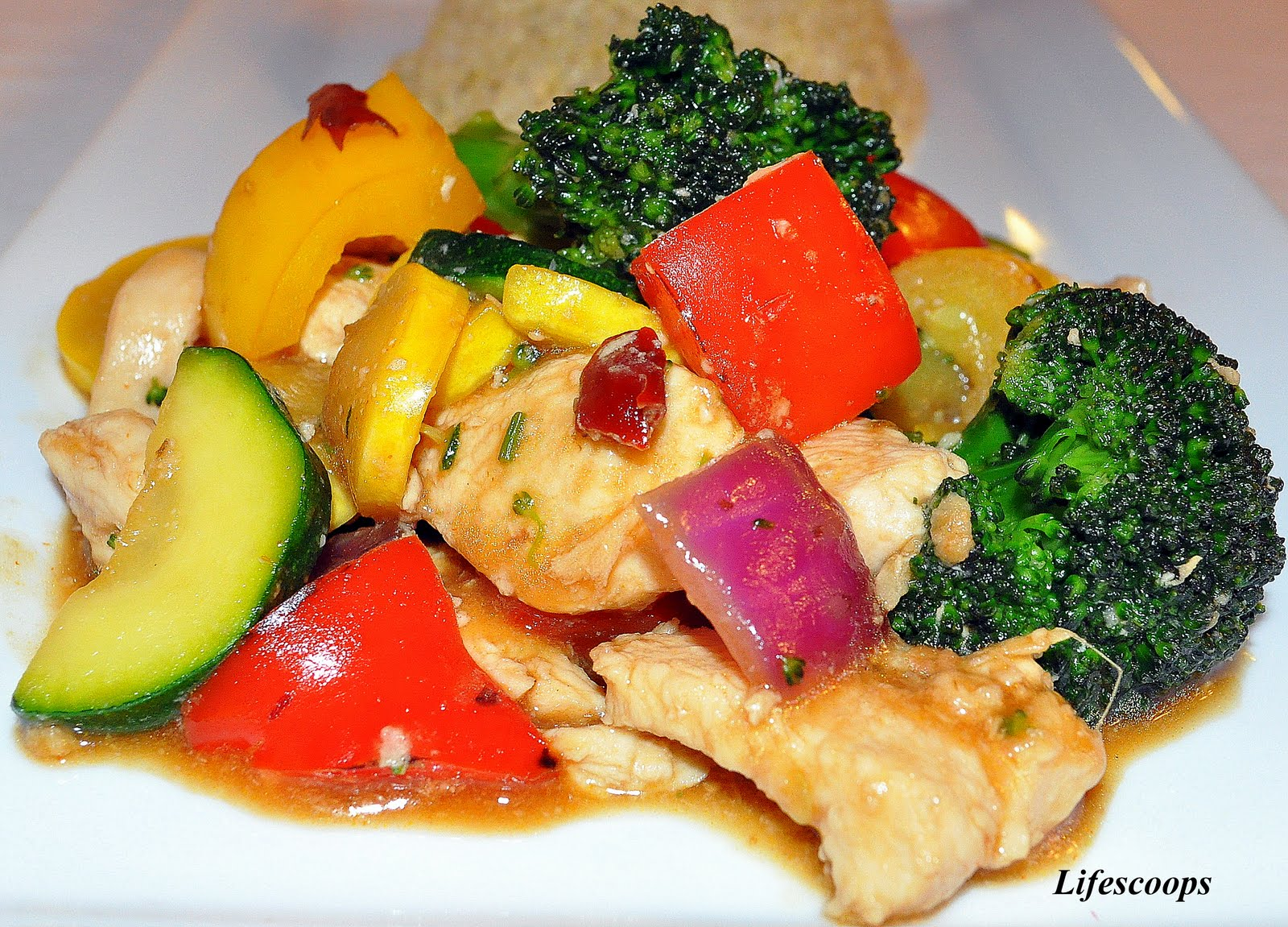 how to cut chicken breast for stir fry