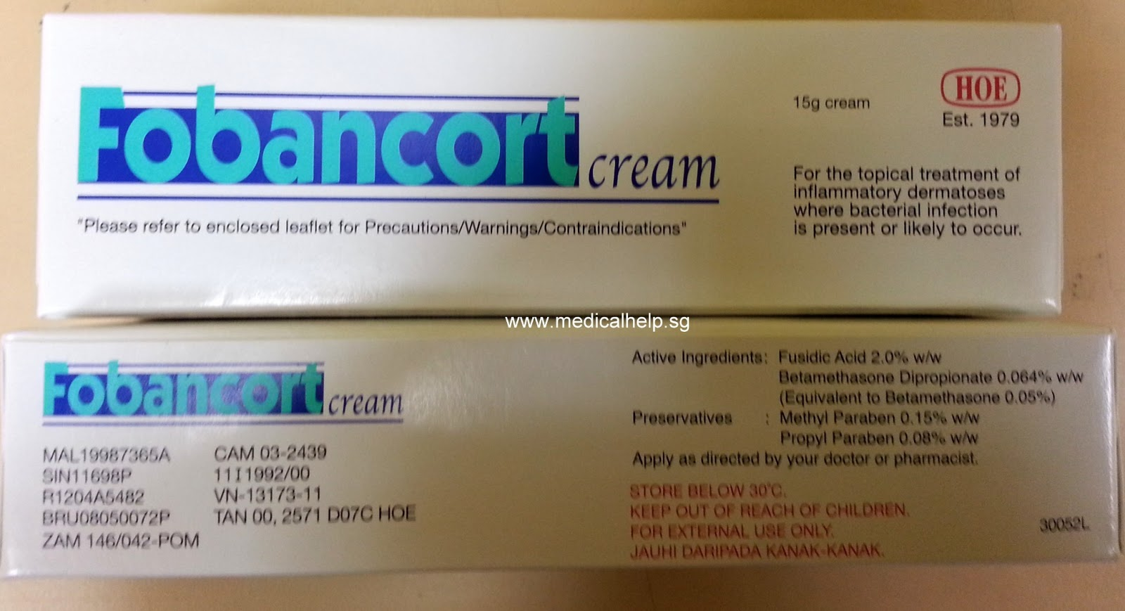 topical corticosteroid cream or ointment