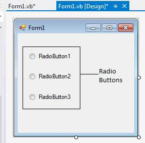 Radiobuttonlist  in vb