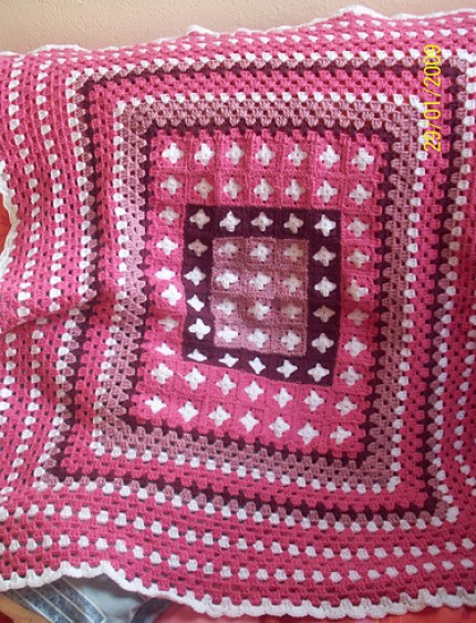 Simply Simple Afghan - Free Pattern