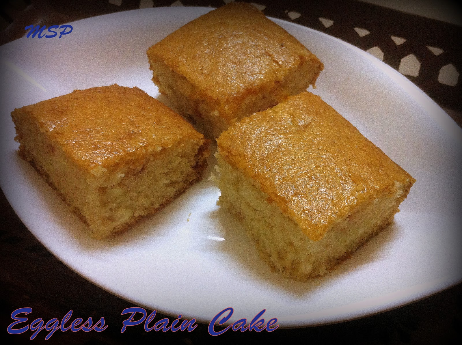 professional eggless cake recipe