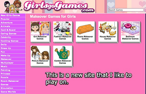Ggg go girl games