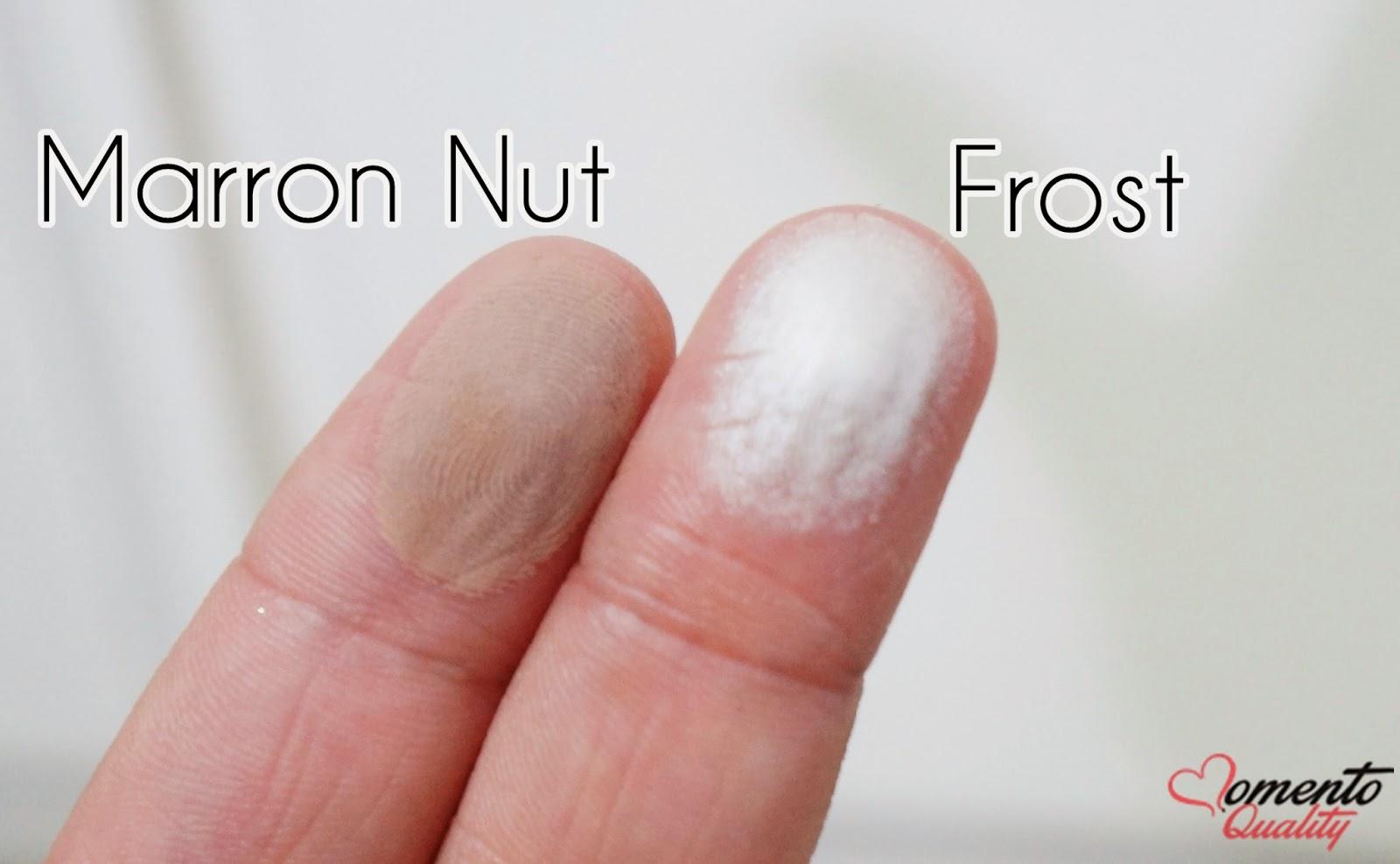 Sombras Eudora Soul Marron Nut e Frost