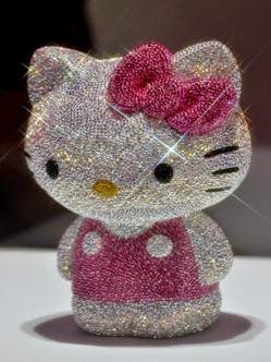 La Hello Kitty de diamante