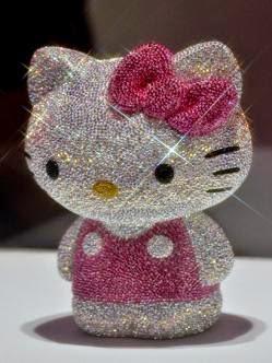 La Hello Kitty de diamante