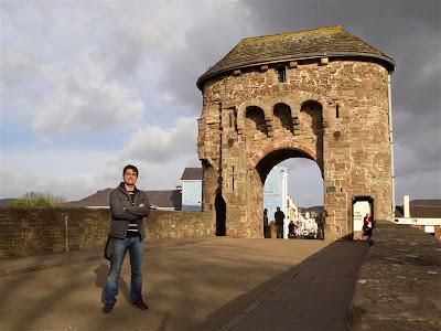 Puente medieval de Monmouth